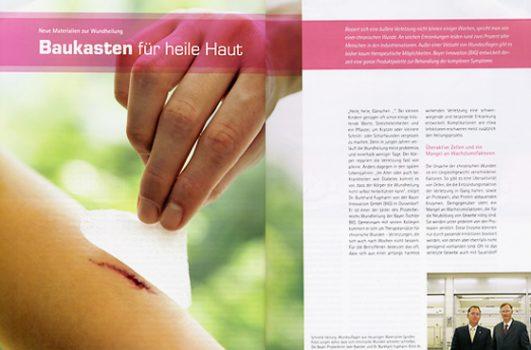 RESEARCH Baukasten für heile Haut