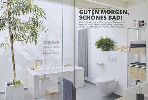 SCHÖNER WOHNEN Guten Morgen, schönes Bad