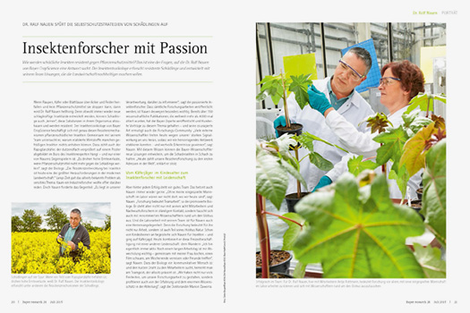 RESEARCH Insektenforscher mit Passion