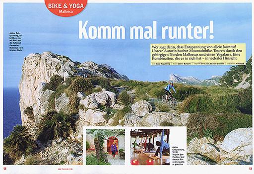 ADAC TRAVELLER Mountainbike und Yoga