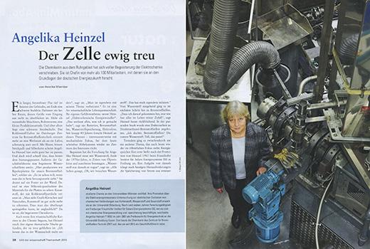 BILD DER WISSENSCHAFT Angelika Heinzel