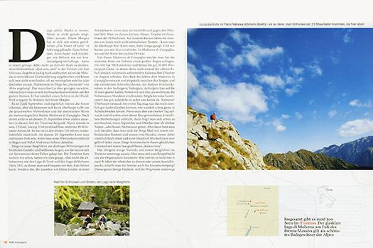 ADAC REISEMAGAZIN Wandern in Trentino