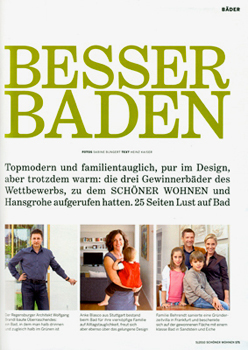 SCHÖNER WOHNEN Besser Baden