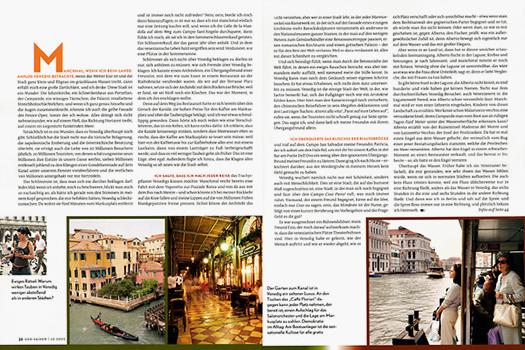 GEO SAISON Venedig, Mailand, Palermo
