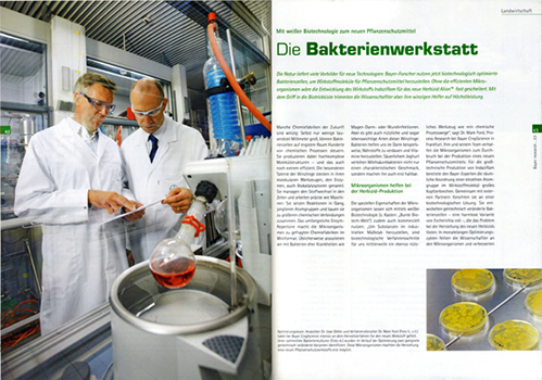 RESEARCH Die Bakterienwerkstatt