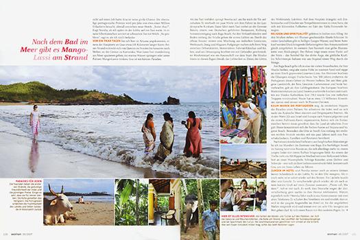 BRIGITTE WOMAN Indien, Goa