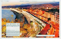 LUFTHANSA MAGAZIN Nizza im Winter